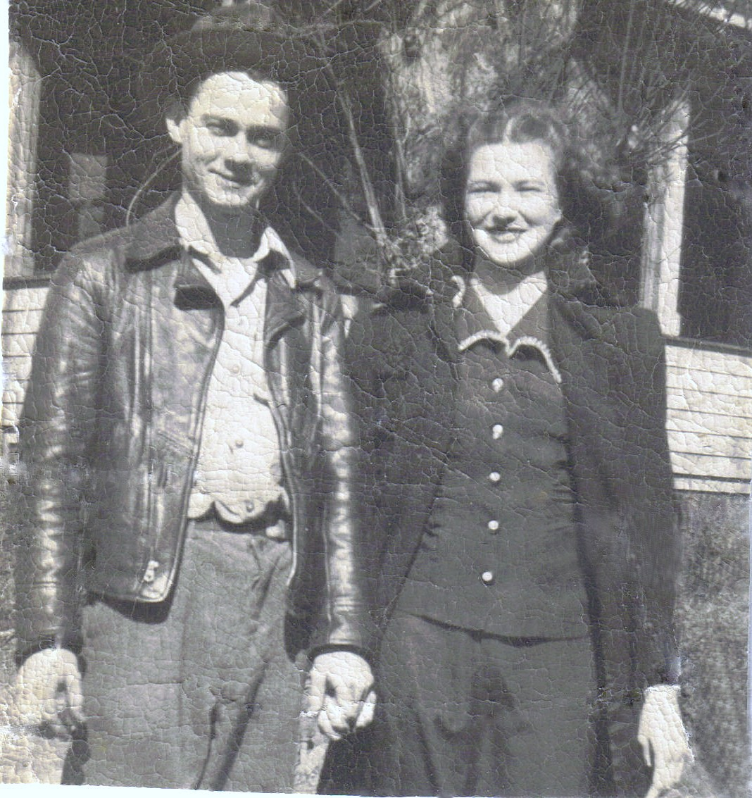 Dad & Mom - April 1947